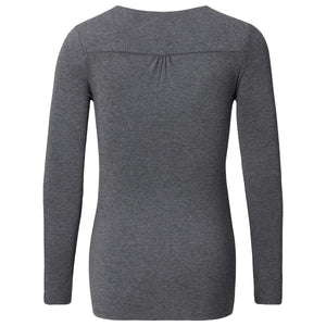 Noppies-Maternity-Hada-2-Grey-Maternity-Shirt-50743C247-Front-Back-Zoom