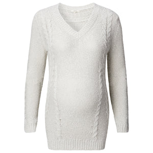 Noppies-Maternity-Hailey-Jumper-Sweater-Sand-50683-Front-Zoom