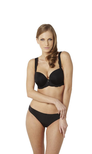 Panache-Black-Ardour-Black-Sweetheart-Bra-7951-Brief-7952-Front