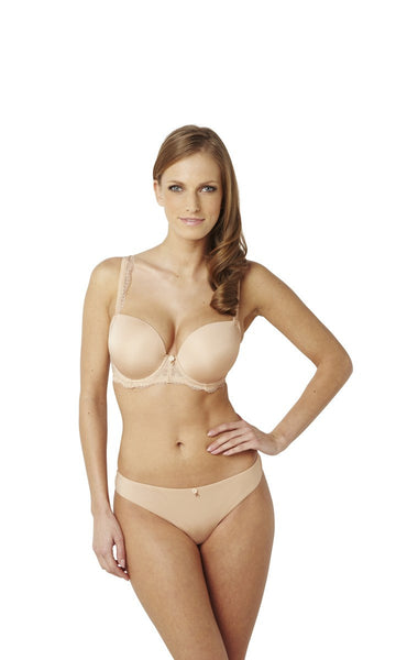 Panache-Black-Ardour-Nude-Sweetheart-Bra-7951-Brief-7952-Front