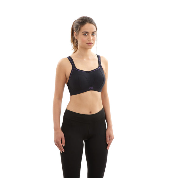 Panache-Black-Sports-Bra-Non-Wired-7341-Front