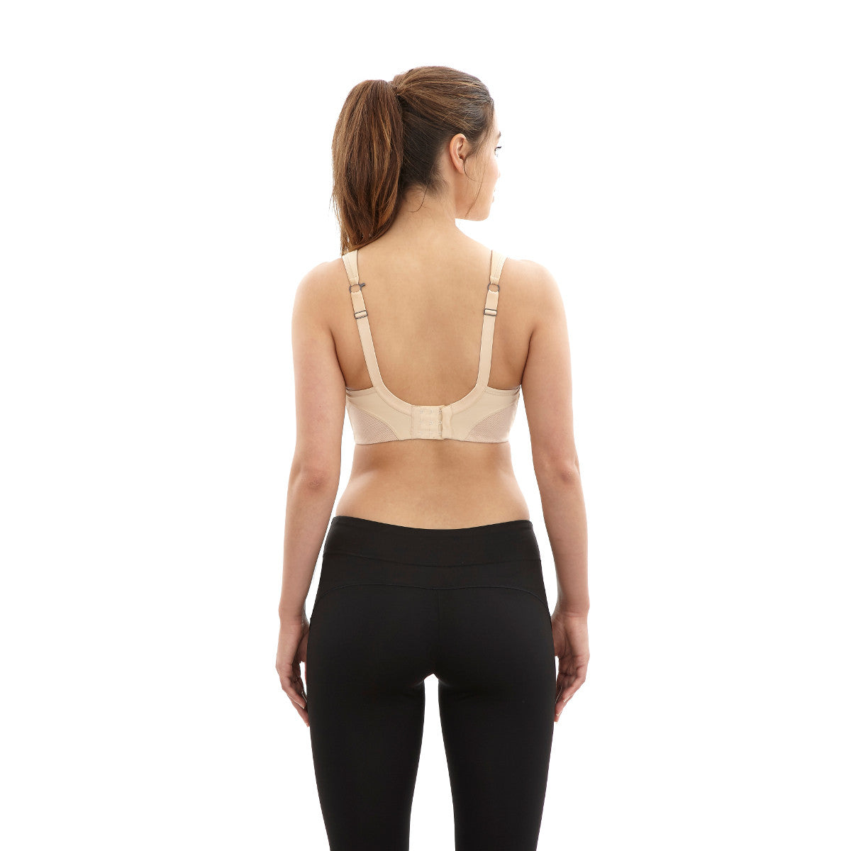 Panache Latte Nude Non-Wired Sports Exercise Bra