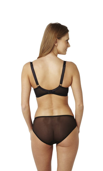 Panache-Lingerie-Clara-Charcoal-Black-Full-Cup-Bra-7255-Brief-7252-Back