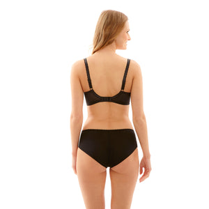 Panache-Lingerie-Jasmine-Black-Balconette-Bra-6951-Brief-6955-Back