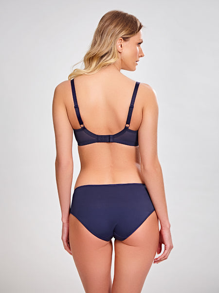 Panache-Lingerie-Tango-Navy-Blue-Plunge-Bra-3256-Brief-9092-Back
