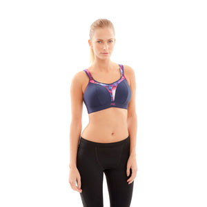 Panache-Navy-Sports-Bra-Non-Wired-Racerback-7341-Front