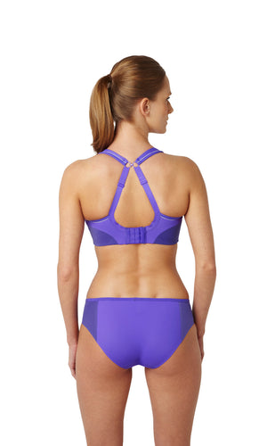 Panache-Purple-Sports-Bra-Non-Wired-Racerback-7341-Brief-7342-Back