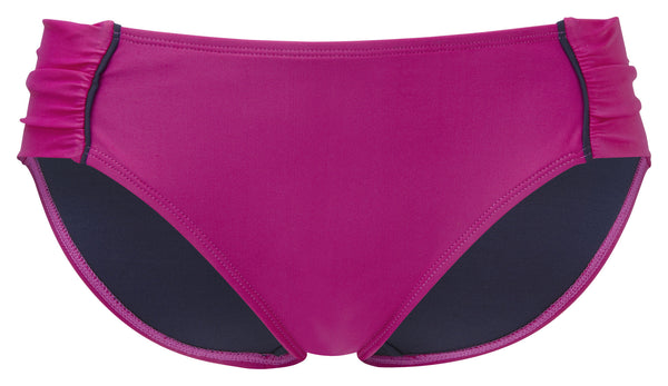 Panache-Swim-Veronica-Gathered-Bikini-Brief-Magenta-SW0649-Front