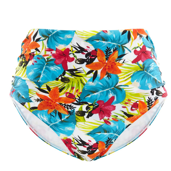Panache-Swimwear-Leila-Tropical-Print-Midi-Brief-Pant-SW1028-Front