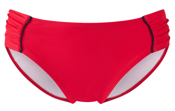 Panache-Swimwear-Veronica-Red-Gathered-Brief-SW0649-Front