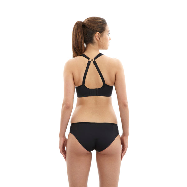 Panache-Underwired-Sports-Bra-Black-5021-Brief-7342-Back