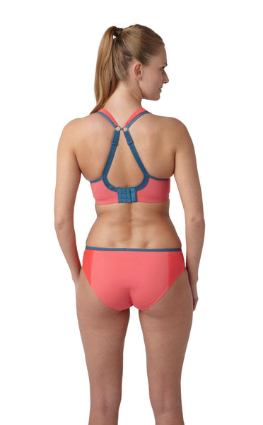 Panache-Underwired-Sports-Bra-Coral-Grey-5021-Brief-7342-Back