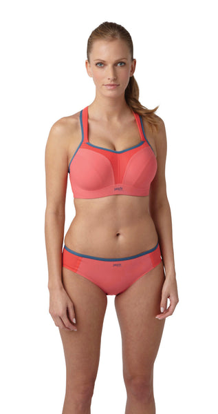 Panache-Underwired-Sports-Bra-Coral-Grey-5021-Brief-7342-Front