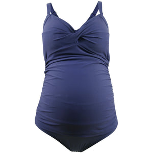Rosewater-Cake-Frappe-Navy-Blue-Maternity-Tankini-Swimsuit-40505525