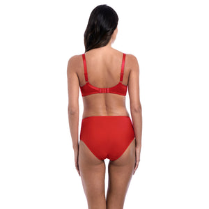 Wacoal-Lingerie-Eglantine-Valencia-Red-Soft-Cup-Bra-WEBFA162VAD-Control-Brief-WEPFA862VAD-Back