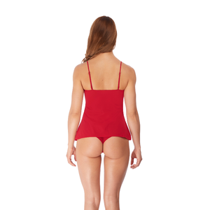 Wacoal-Lingerie-Lace-Essential-Chilli-Red-Camisole-Straps-WE136009CHI-Tanga-WE136007CHI-Back