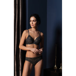 Wacoal-Lingerie-Lace-Perfection-Charcoal-Grey-Average-Wire-Bra-WE135002CHL-Brief-WE135005CHL-Lifestyle
