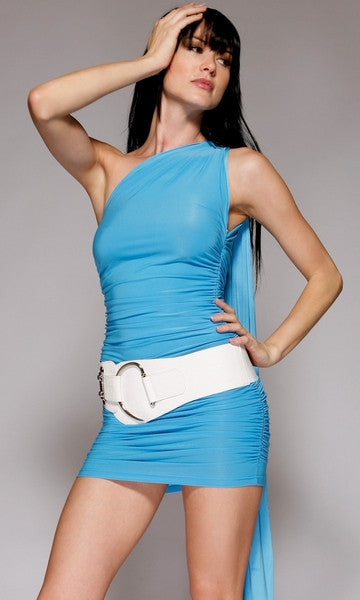 Four-Style-Versatile-Blue-Dress-Front