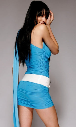 Four-Style-Versatile-Blue-Dress-Back