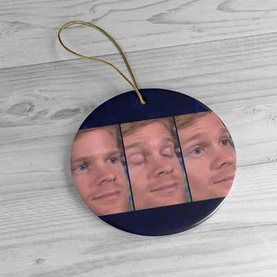 Skhynews Meme Ceramic Christmeme Ornaments