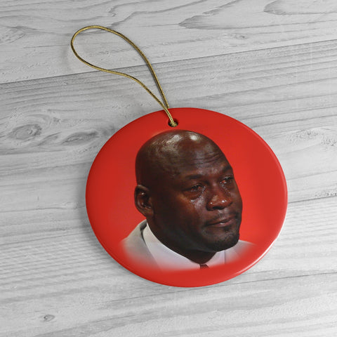 MJ Meme Ceramic Christmeme Ornaments