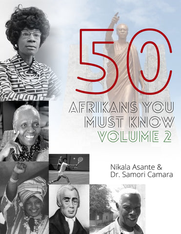 (Pre-Order) 50 Afrikans You Must Know Vol. 2 Reading Comprehension Workbook