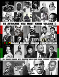 50 Afrikans You Must Know Vol. 1 Reading Comprehension Workbook