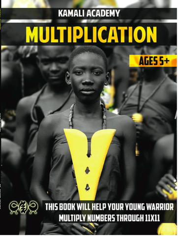 Kamali Academy Multiplication Workbook