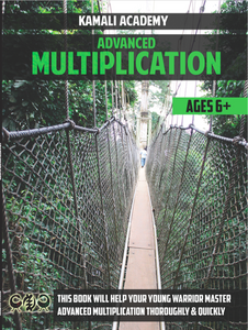Advanced Multiplication Workbook