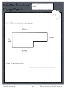 Word Problems Workbook (pdf)