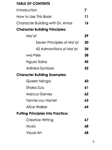 Character Building for African Centered Scholars: Grades 1 - 4 (pdf)