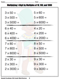 4th Grade Math Review from Kamali Academy (pdf)
