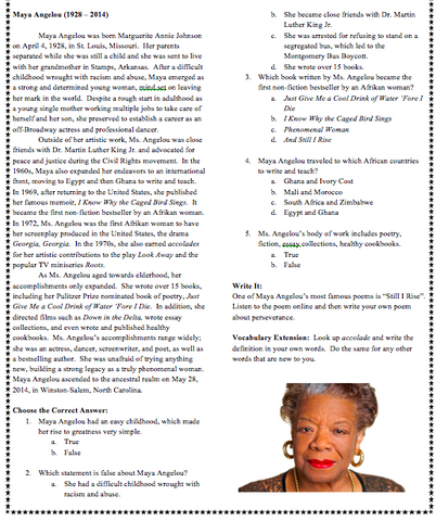 50 Afrikans You Must Know Vol  2 Reading Comprehension Workbook (pdf)