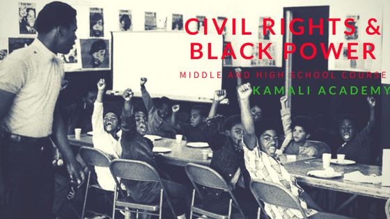 Civil Rights and Black Power Course