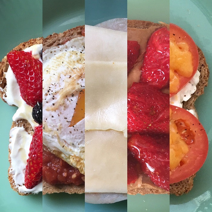 5 Open-Faced Breakfast Sandwiches – 5 Minutes