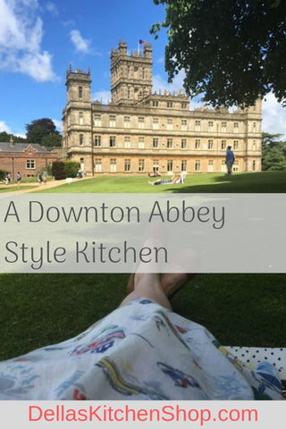 A Downton Abbey Style Kitchen