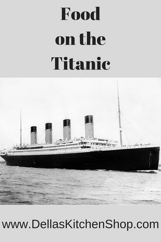 Food on the Titanic - Southampton Visit