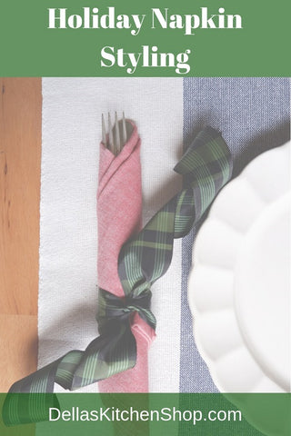Holiday Napkin Styling
