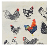 Rooster Cocktail Napkin