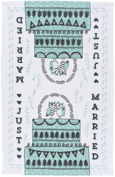 Just Married Hand Towel