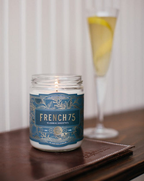 "Cocktail Candles + 7"" Matchstick Bottles"