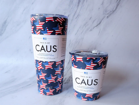 CAUS Tumblers - Give Back to Disabled Heroes