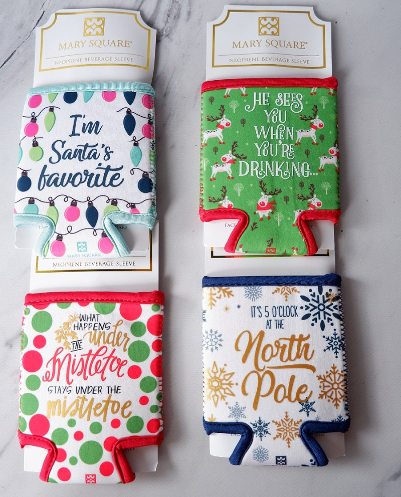 Christmas Drink Koozies