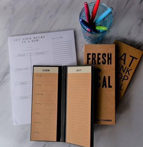 Weekly Meal Planner Notepads