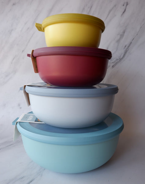 Cirqula Stackable Bowls - Mix, Serve, Store