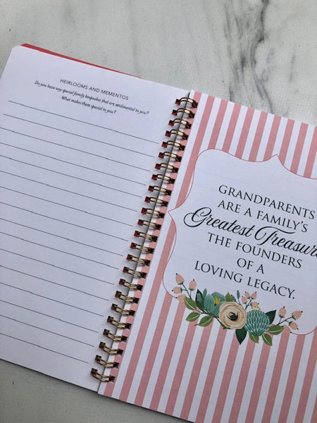 Grandmother & Mother Interview Journals