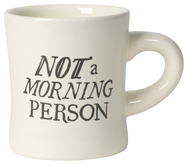 Best Day Ever + NOT a Morning Person Diner Mug
