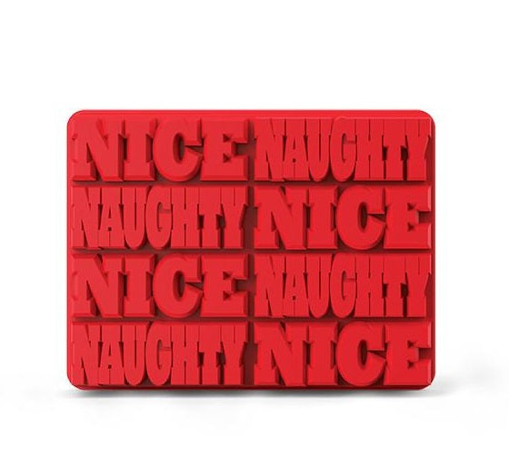 Naughty - Nice Ice Cube Party Molds