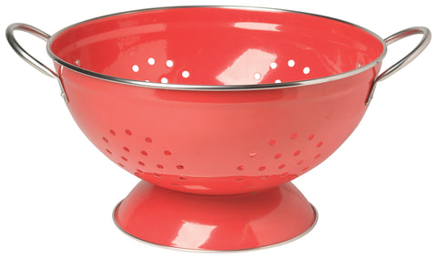 Red Colander Set of 2
