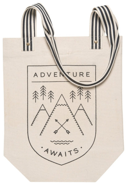 Adventure Awaits Collection - Mug, Travel bag, Tote